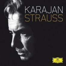 Richard Strauss (1864-1949): Karajan - Strauss - The Complete Analogue Recordings (mit Blu-ray Audio), 11 CDs und 1 Blu-ray Audio