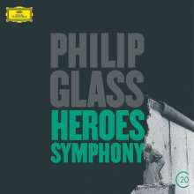 "Philip Glass (geb. 1937): ""Heroes"" Symphony, CD"