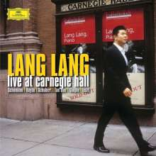 Lang Lang - Live at Carnegie Hall 7.November 2003 (180g), 2 LPs