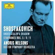 Dmitri Schostakowitsch (1906-1975): Symphonien Nr.5,8,9, 2 CDs