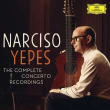 Narciso Yepes - The Complete Concerto Recordings, 5 CDs