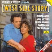 Leonard Bernstein (1918-1990): West Side Story (Auszüge) (180g), LP