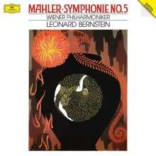 Gustav Mahler (1860-1911): Symphonie Nr.5 (180g), 2 LPs