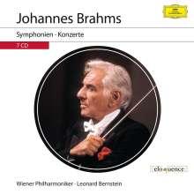 Johannes Brahms (1833-1897): Die Symphonien & Konzerte, 7 CDs