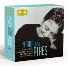 Maria Joao Pires - Complete Chamber Music Recordings on Deutsche Grammophon, 12 CDs