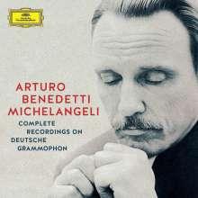 Arturo Benedetti Michelangeli - Complete Recordings on Deutsche Grammophon, 10 CDs