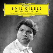 Emil Gilels - The Seattle Recital 1964, CD