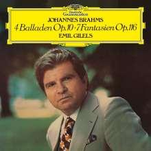 Johannes Brahms (1833-1897): Balladen op.10 Nr.1-4 (180g), LP