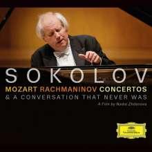 Grigory Sokolov - Mozart & Rachmaninoff, 1 CD und 1 DVD