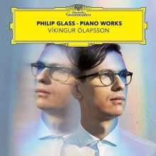 Philip Glass (geb. 1937): Klavierwerke (180g), 2 LPs