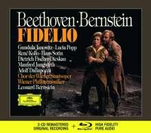 Ludwig van Beethoven (1770-1827): Fidelio op.72 (Deluxe-Ausgabe mit Blu-ray Audio), 2 CDs und 1 Blu-ray Audio