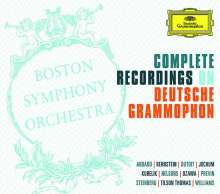 Boston Symphony Orchestra - Complete Recordings on Deutsche Grammophon, 57 CDs