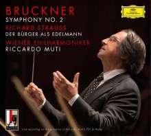 Anton Bruckner (1824-1896): Symphonie Nr.2, 2 CDs