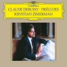 Claude Debussy (1862-1918): Preludes Heft 1 & 2 (180g), 2 LPs