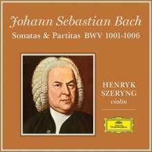 Johann Sebastian Bach (1685-1750): Sonaten & Partiten für Violine BWV 1001-1006 (180g), 3 LPs