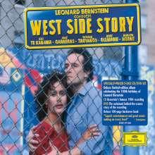 Leonard Bernstein (1918-1990): West Side Story (CD & DVD), 1 CD und 1 DVD