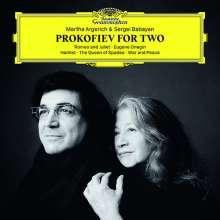 Serge Prokofieff (1891-1953): Transkriptionen für 2 Klaviere, CD