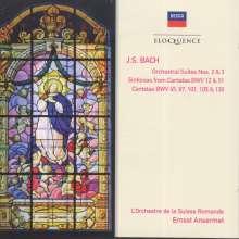 Johann Sebastian Bach (1685-1750): Orchestersuiten Nr.2 & 3, 2 CDs