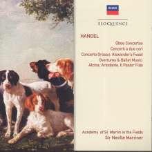 Georg Friedrich Händel (1685-1759): Oboenkonzerte Nr.1-3, 2 CDs