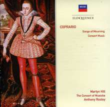 John Coprario (1575-1626): Songs of Mourning, CD