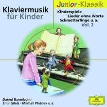 Klaviermusik für Kinder Vol.2, CD