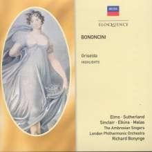 Giovanni Battista Bononcini (1670-1747): Griselda (Ausz.), CD