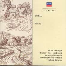 William Shield (1748-1829): Rosina, CD