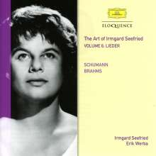 The Art of Irmgard Seefried Vol.6 - Schumann & Brahms, CD
