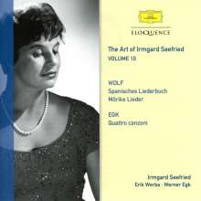 The Art of Irmgard Seefried Vol.10 - Wolf / Egk, CD
