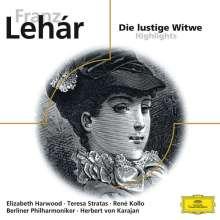 Franz Lehar (1870-1948): Die lustige Witwe (Ausz.), CD