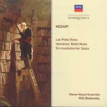 Wolfgang Amadeus Mozart (1756-1791): Les Petits Riens KV 299b (Ballettmusik), CD