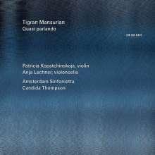 """Tigran Mansurian (geb. 1939): Violinkonzert Nr. 2 """"Vier ernste Gesänge"""", CD"""