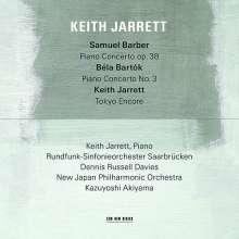 Keith Jarrett - Samuel Barber / Bela Bartok, CD