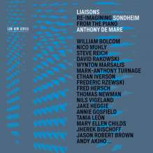 Stephen Sondheim (geb. 1930): Liaisons - Re-Imagining Sondheim from the Piano, 3 CDs