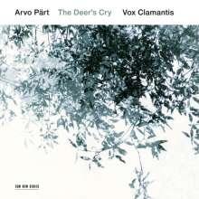 """Arvo Pärt (geb. 1935): Geistliche Chorwerke """"The Deer's Cry"""", CD"""