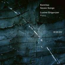 Komitas (1869-1935): Seven Songs für Klavier, CD