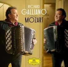 Richard Galliano - Mozart, CD