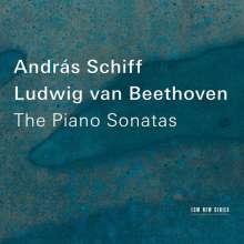 Ludwig van Beethoven (1770-1827): Sämtliche Klaviersonaten (Andras Schiff), 11 CDs