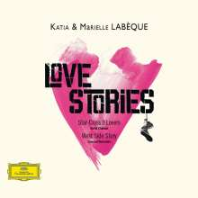 Katia & Marielle Labeque - Love Stories, CD