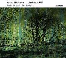 Yuuko Shiokawa & Andras Schiff - Bach / Busoni / Beethoven, CD