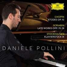 Daniele Pollini - Chopin / Scriabin / Stockhausen, CD