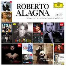 Roberto Alagna - L'Essentiel des Albums Studio, 14 CDs