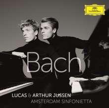 Johann Sebastian Bach (1685-1750): Konzerte für 2 Klaviere & Orchester BWV 1060 & 1061, CD