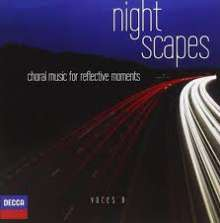 Voces 8 - Night Scapes, CD