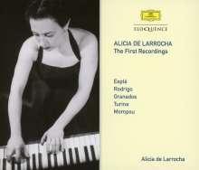 Alicia de Larrocha - The First Recordings, 3 CDs