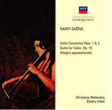 Camille Saint-Saens (1835-1921): Cellokonzerte Nr.1 & 2, CD