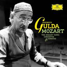 Friedrich Gulda - The Mozart Tapes, Concertos & Sonatas, 10 CDs