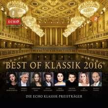 Best of Klassik 2016 - Die Echo Klassik Preisträger, 3 CDs