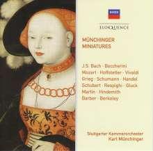 Stuttgarter Kammerorchester - Münchinger Miniatures, 2 CDs