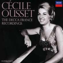 Cecile Ousset - The Decca France Recordings, 7 CDs